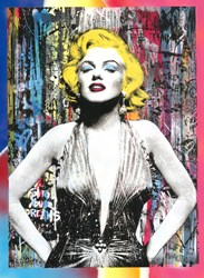 Marilyn for Ever by Mr. Brainwash - Unique sized 22x30 inches. Available from Whitewall Galleries